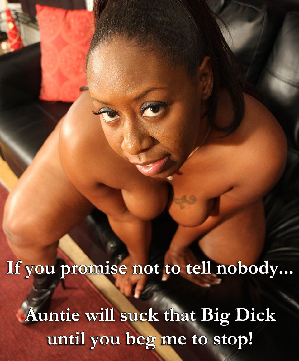 ebony aunt nephew incest captions - motherless
