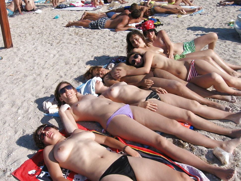 Were visited spring break topless your idea