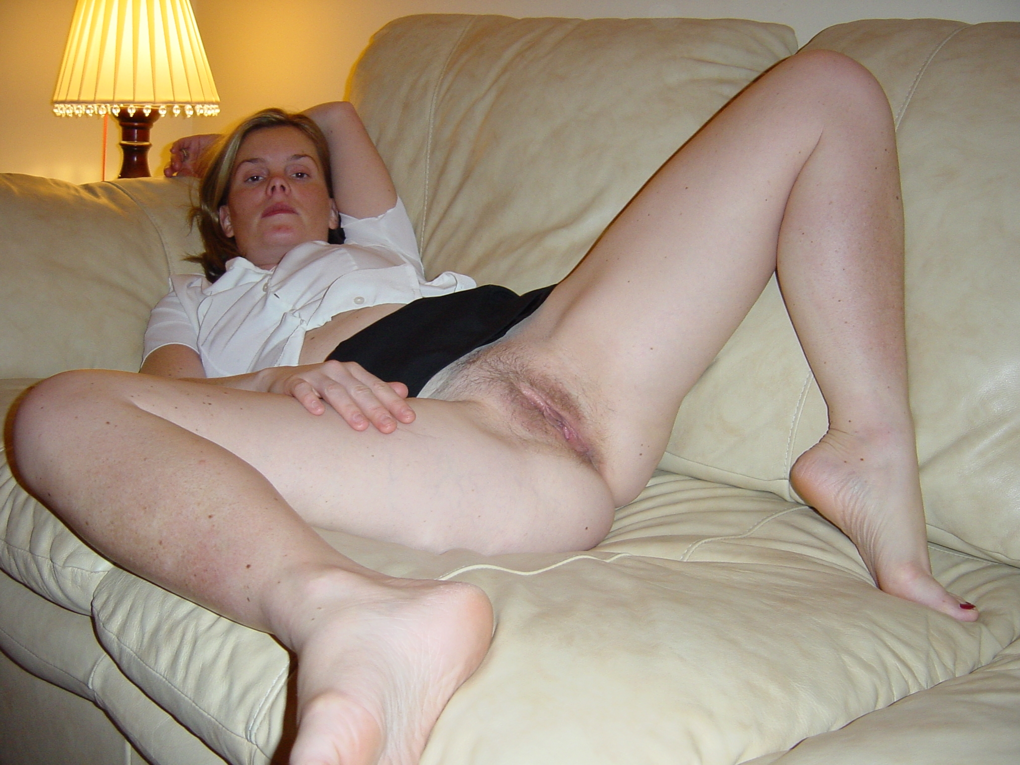 Wife wide Real spread