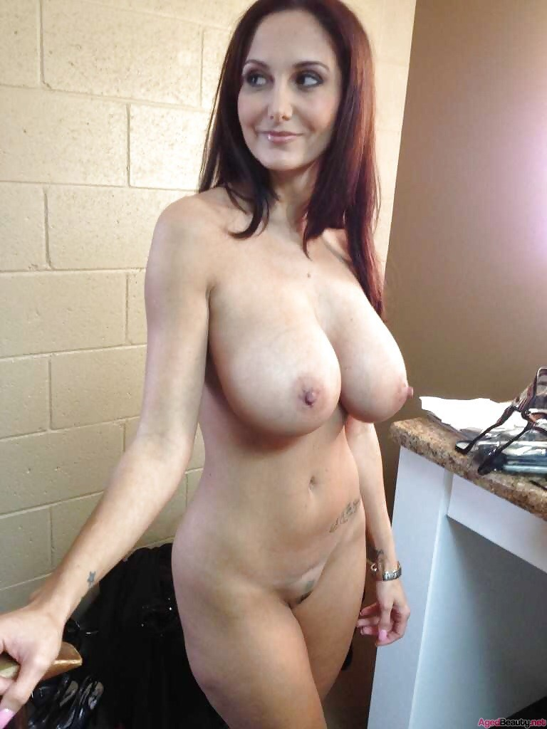 Natural breast milf
