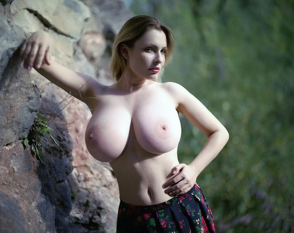 Polish Bitch Andrea Juggling Her Big Boobs While Cockriding