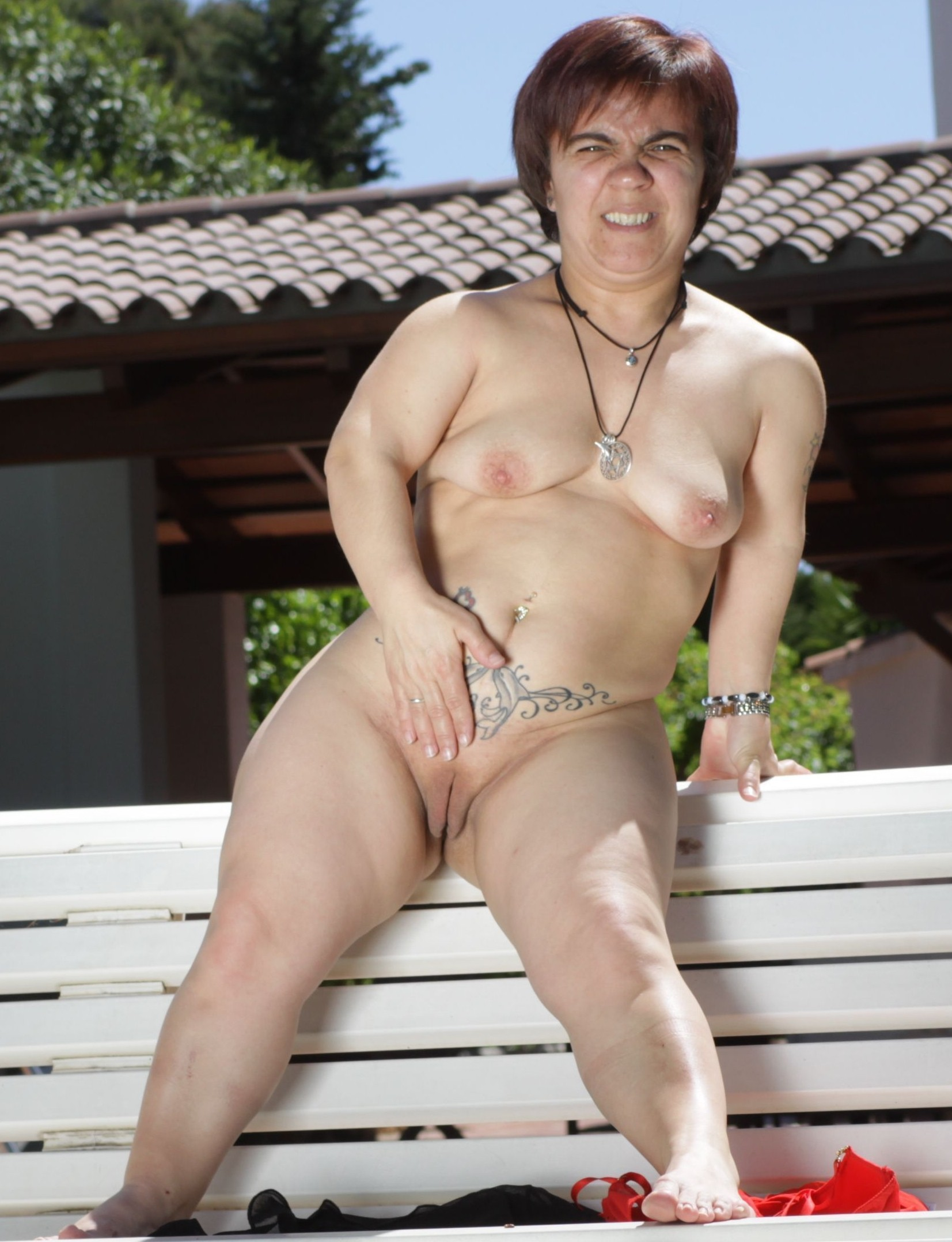 Naked and wild laura