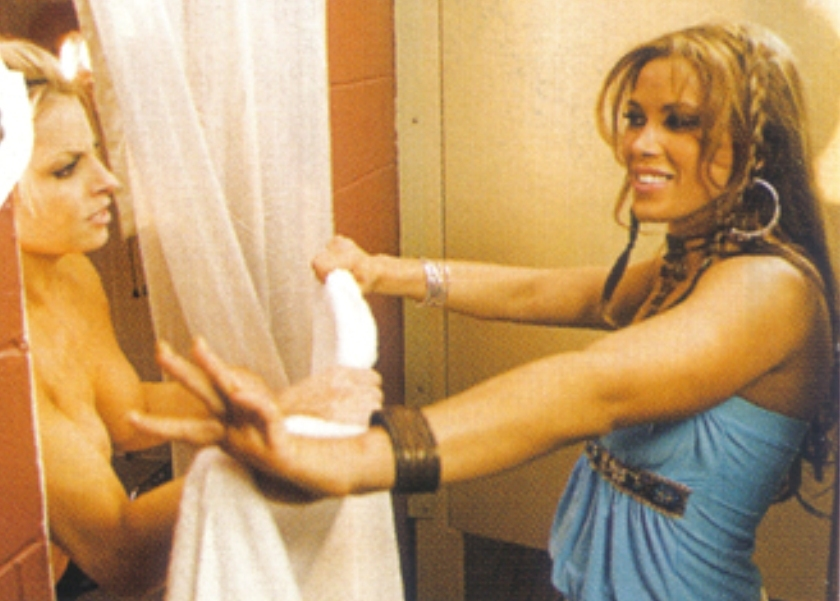 Really. Many Trish stratus sexy naked legs were visited