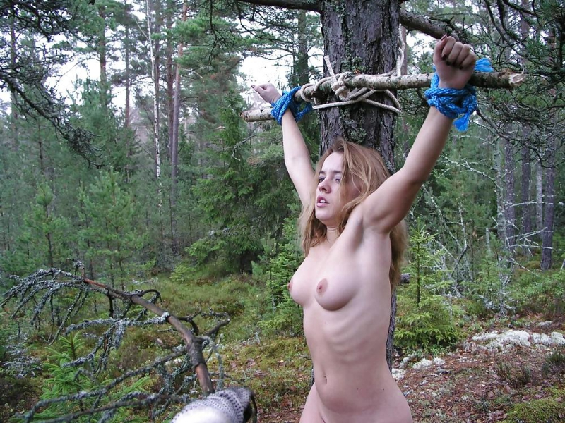 You will bdsm crucified woman with