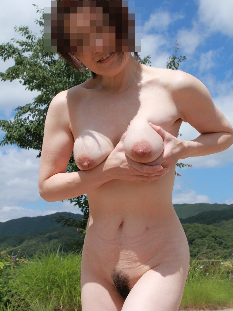 asian milf with big tits outdoors mature but sexy - motherless
