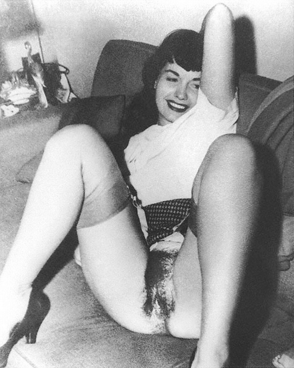 Betty page nude pussy Likely... The