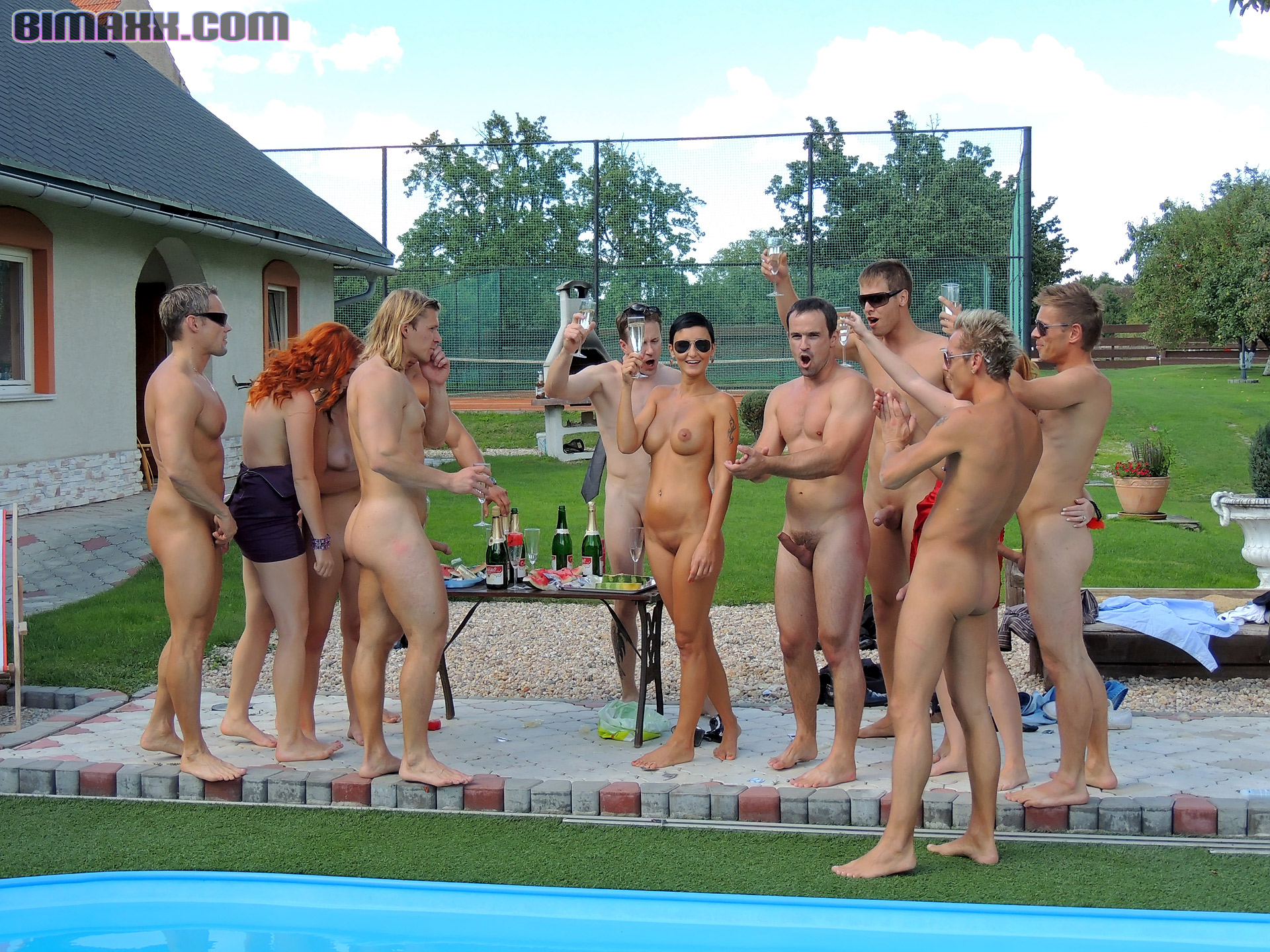 image Men party naked outside gay this weeks