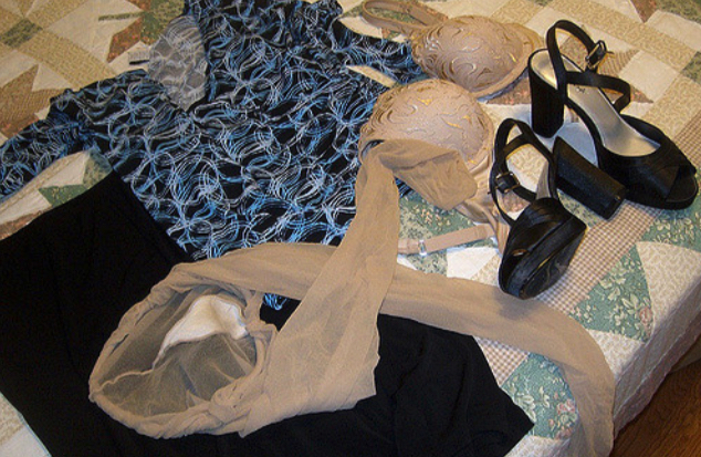 Outfit used pantyhose store bei tatas