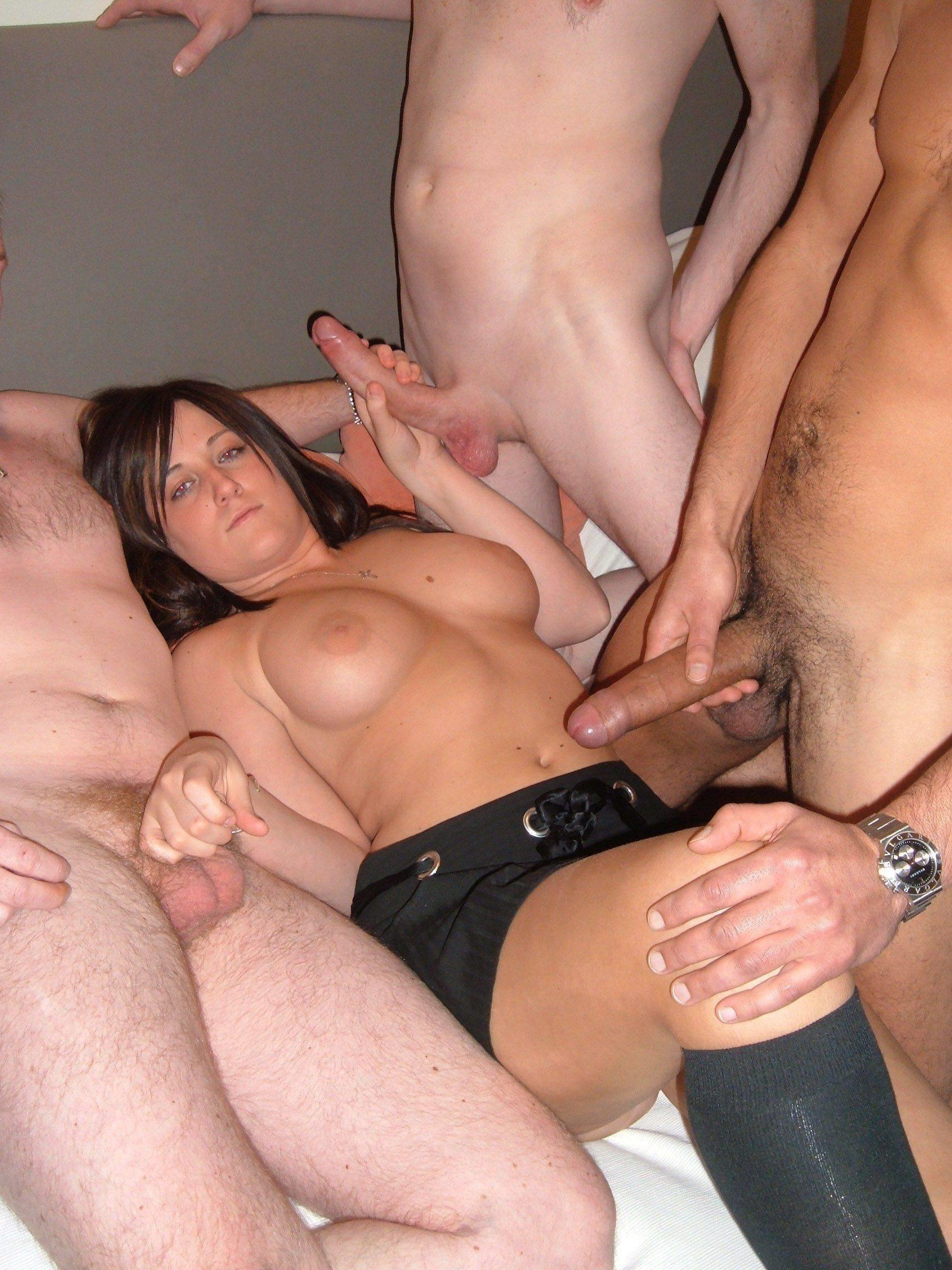 Secondtime Gangbang Sexwife