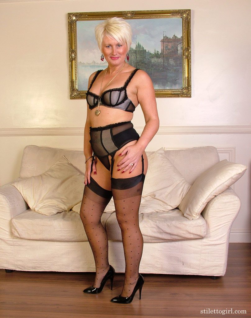British Blonde Milf Homemade