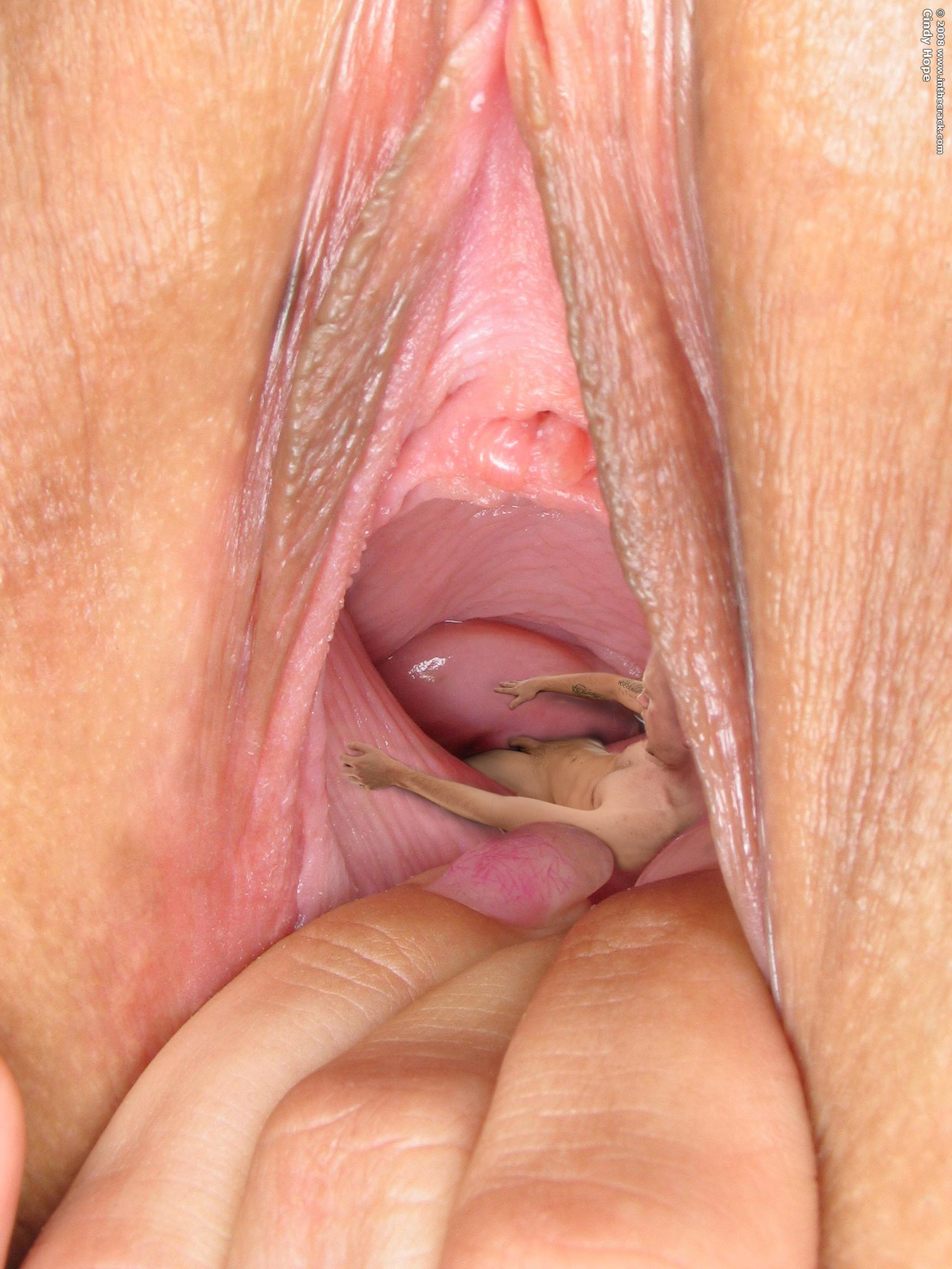 Up clitoris close extreme