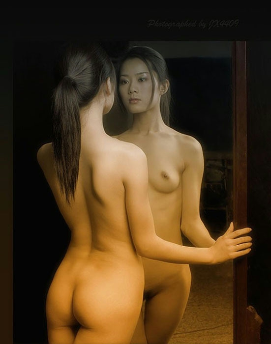 Asian art girl nude