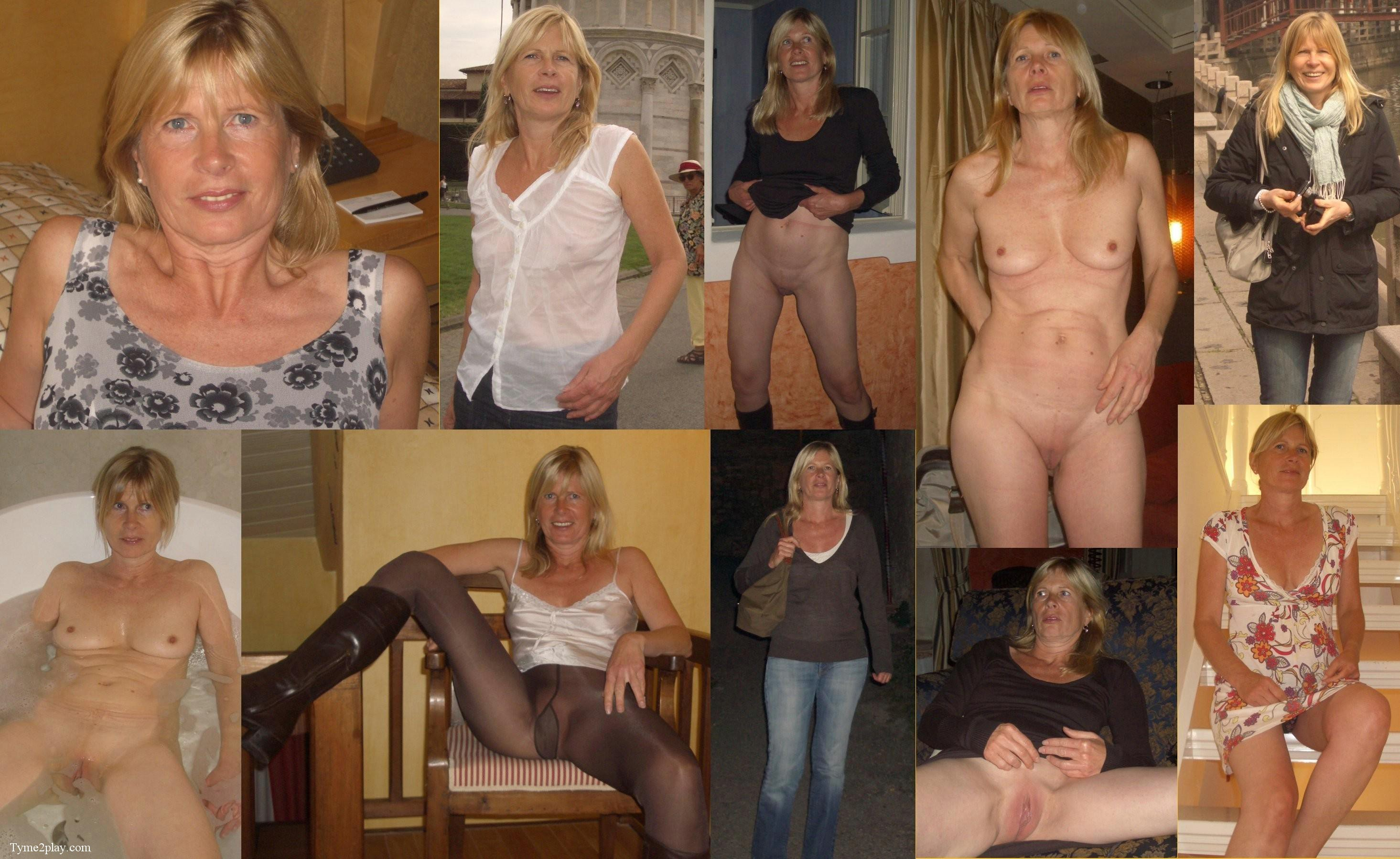 Mature gaping pussy