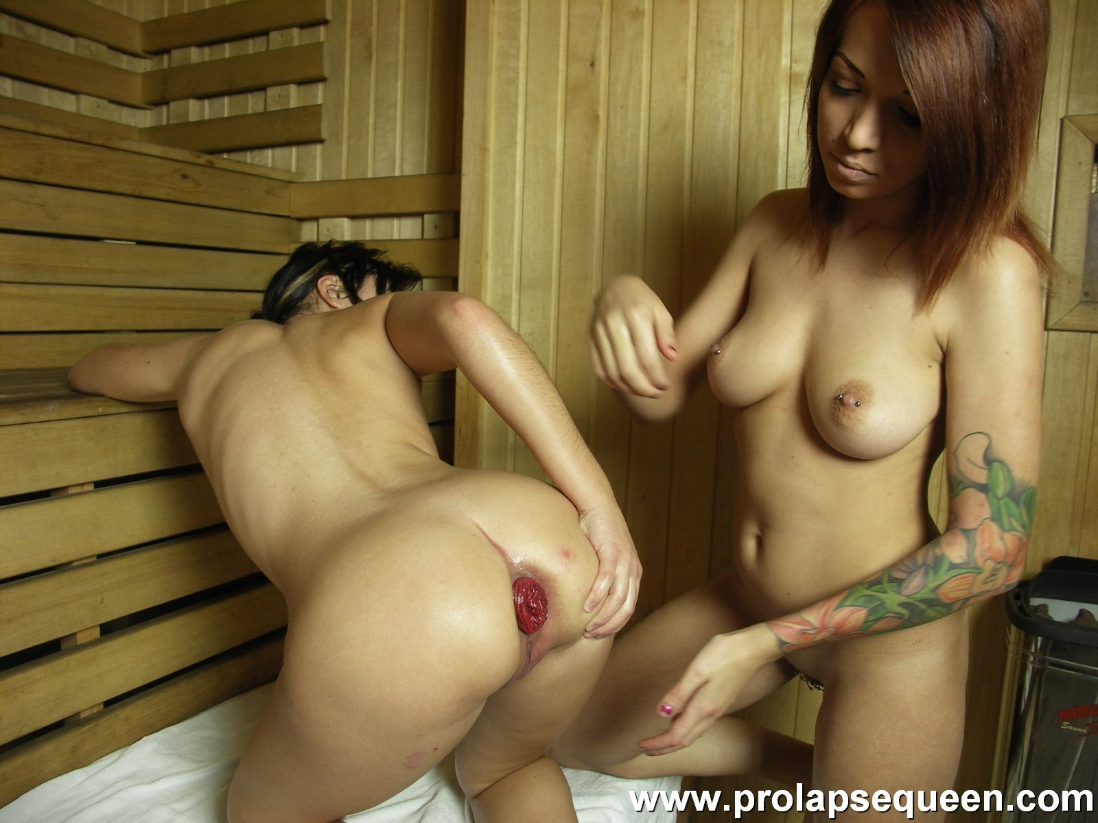 Properties leaves Freaky anal fisting babes sauna