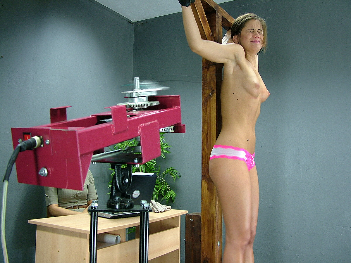 Machine whipped and tied women