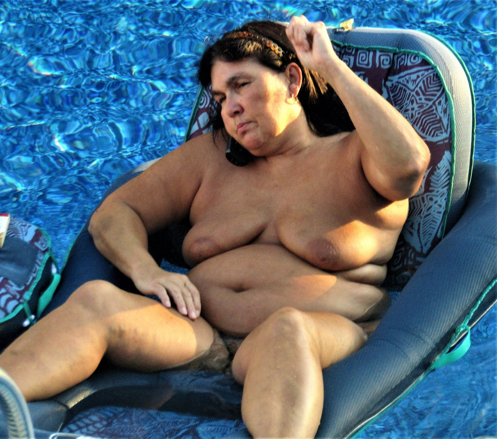 Wife naked at the pool valuable message