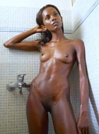 skinny Black girls naked