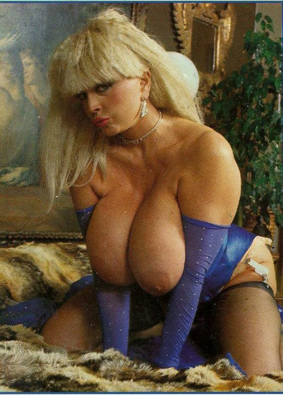 Old women with puffy tits