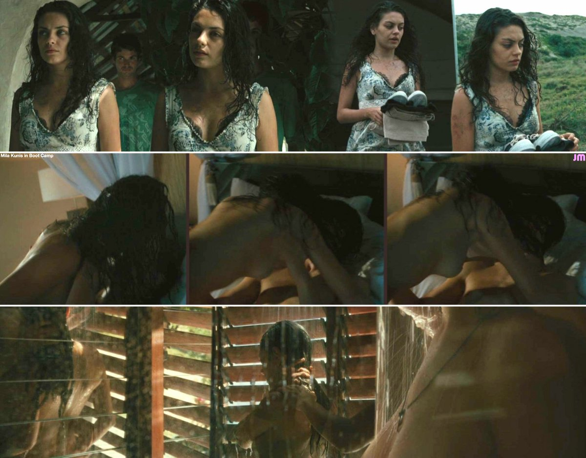 Mila kunis nude in boot camp