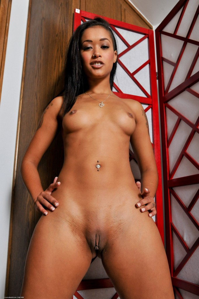 Latino chick and black cock