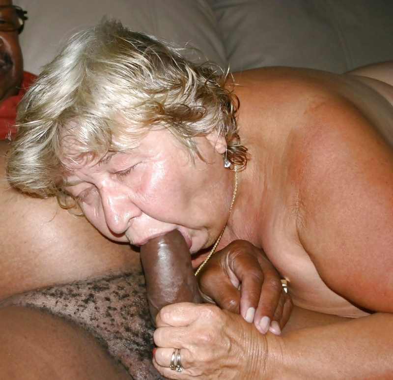 Granny Sucking Cock And Fingering Her Mature Pussy