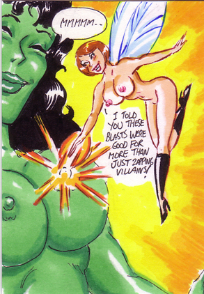 interracial sex with marvel avengers lesbian porn