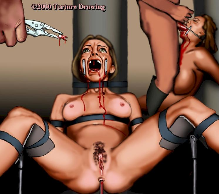 Rack!!! bdsm labia torture tube switch place with