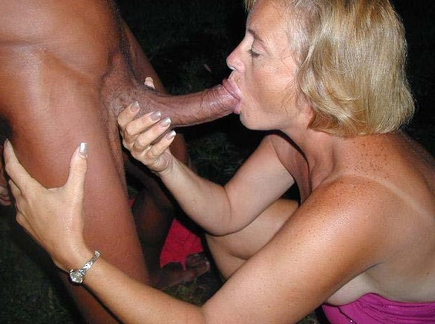 black cock whore Wife sucking