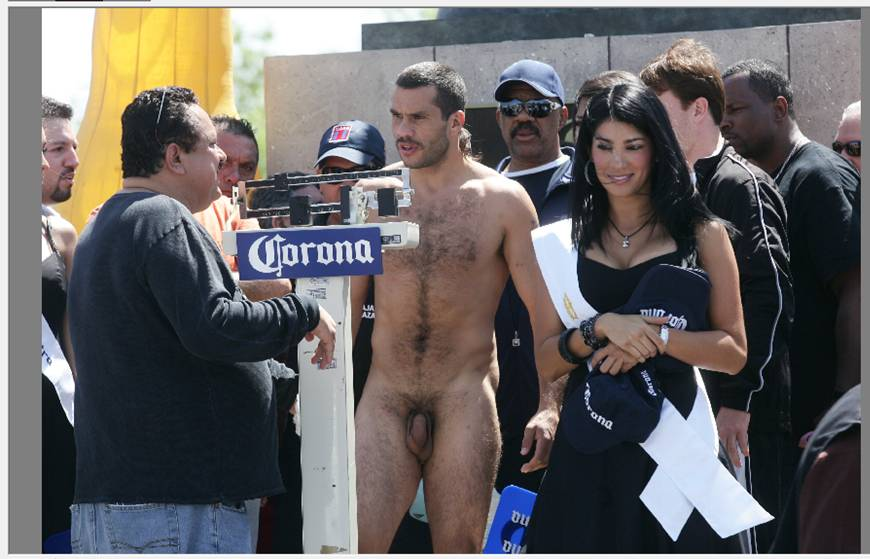 Extreme fighters naked weigh in pictures — photo 6