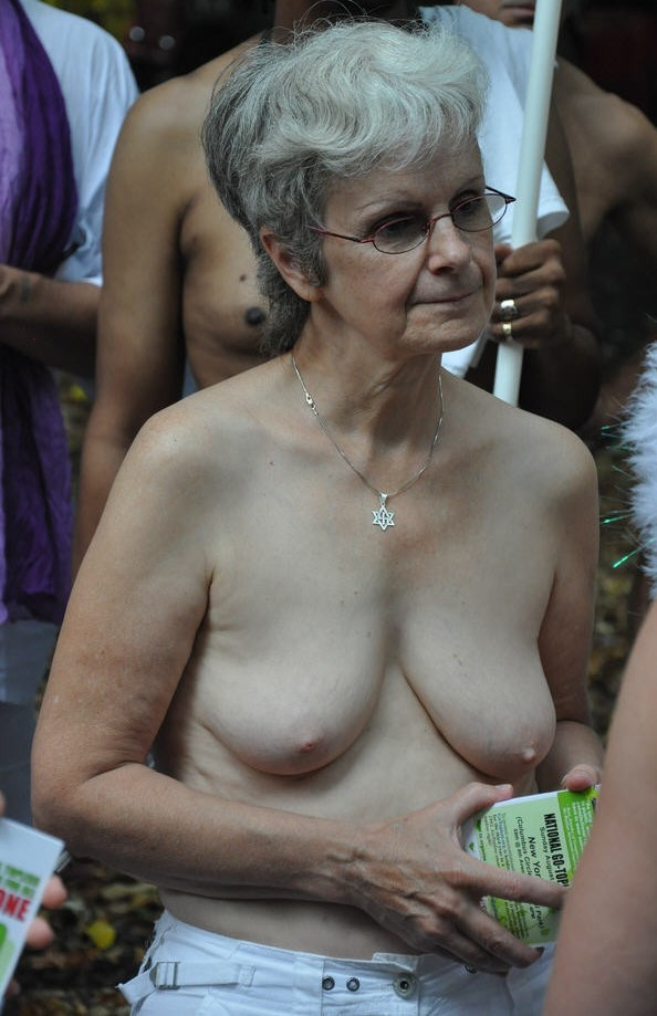 Opinion granny flashing tits in public the