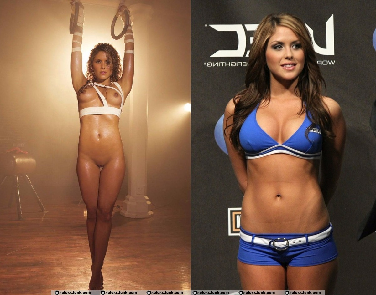 Hottest mma ring girls naked