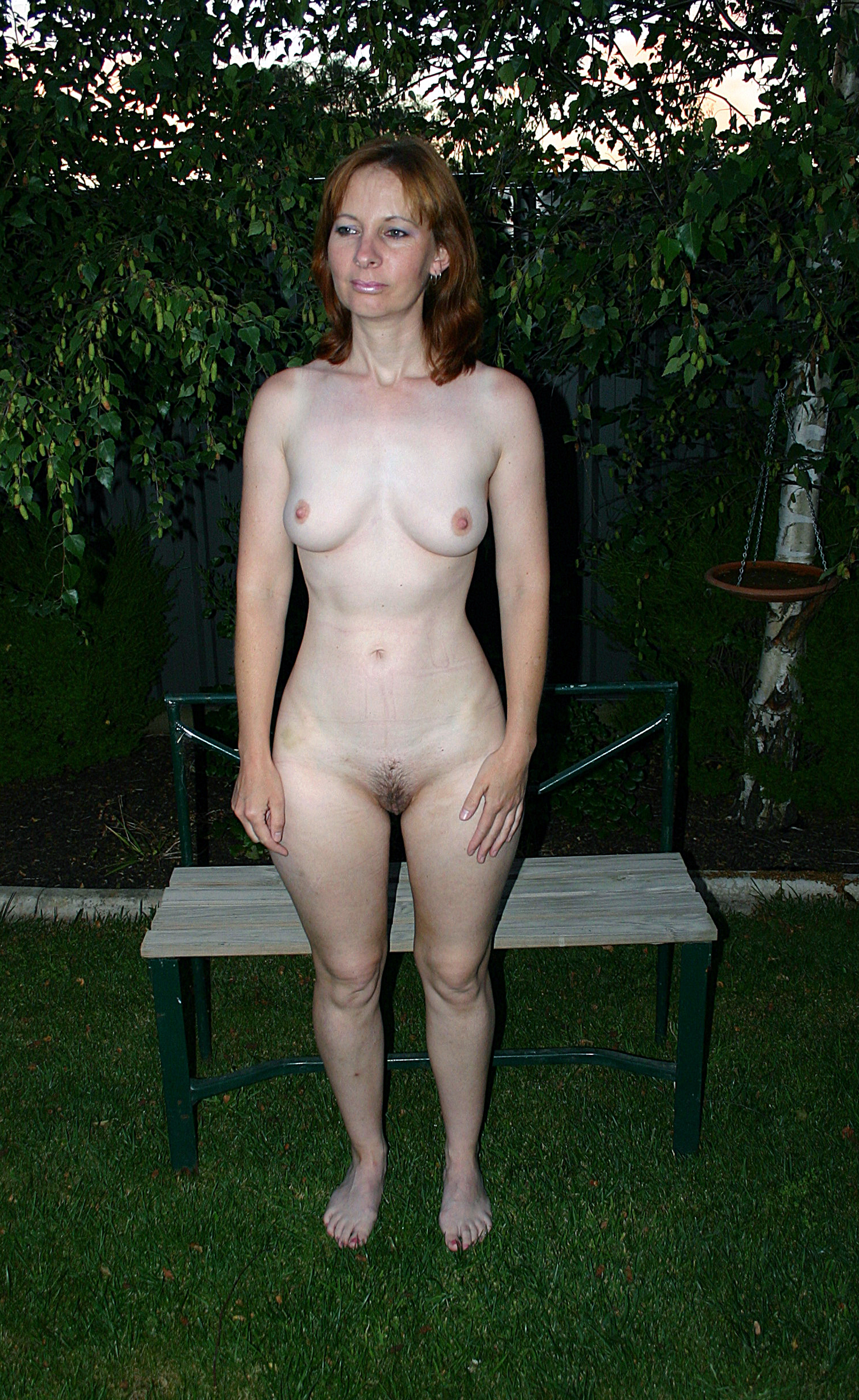 Pussy naked mature woman standing fat