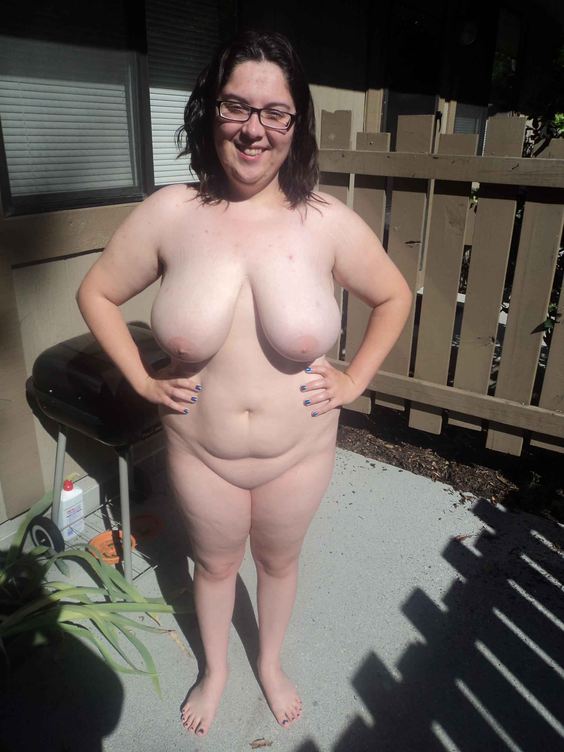Naked pic of bbw