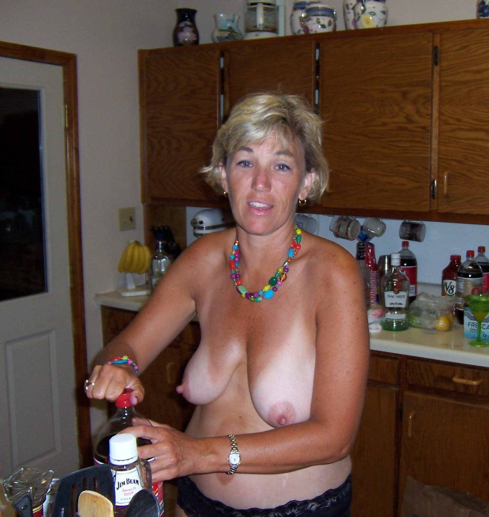 Are saggy tits ugly wife something