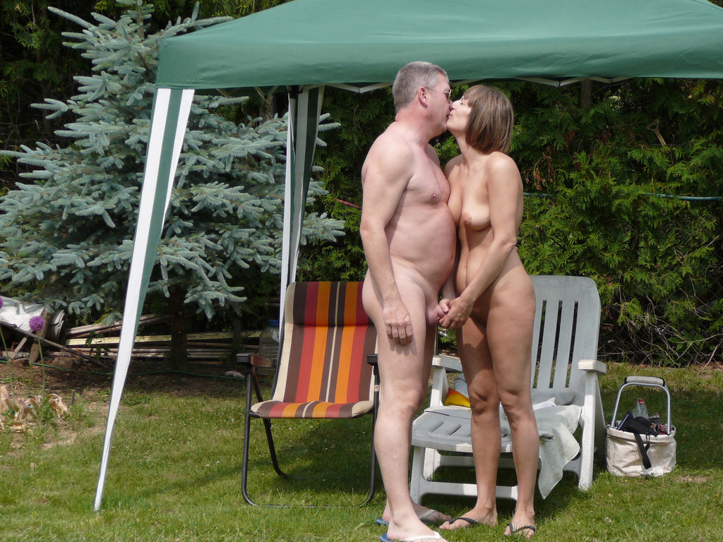 Couples private sensual video outdoors — pic 2