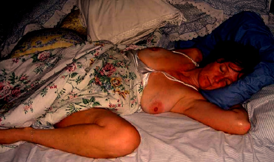 Son Rapes Sleeping Mother