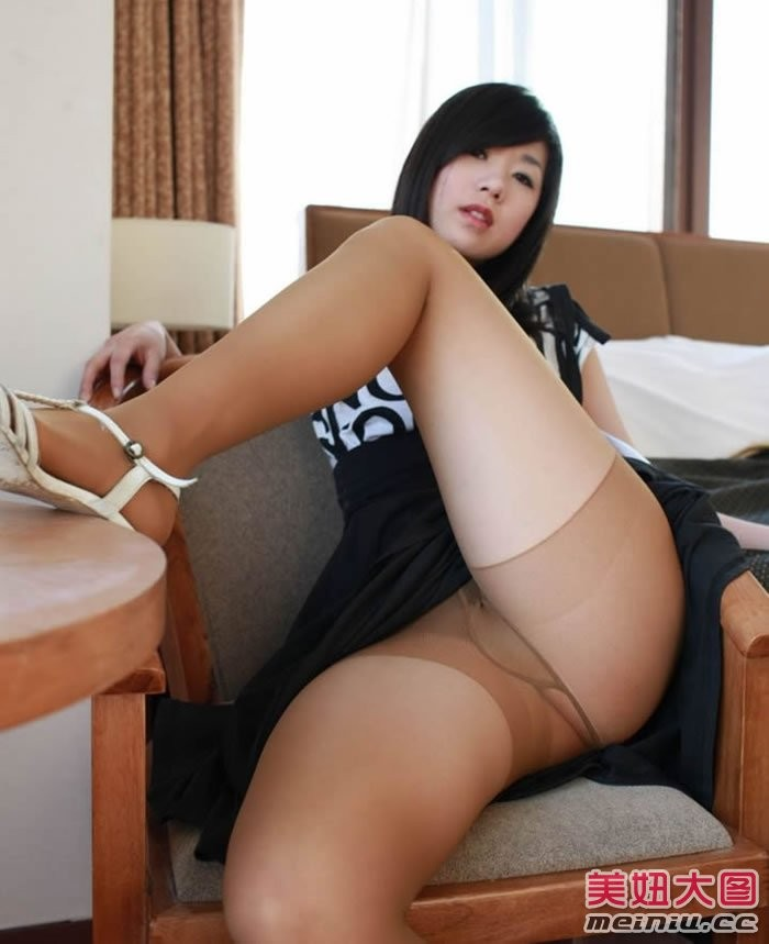 Chinnese in pantyhose you