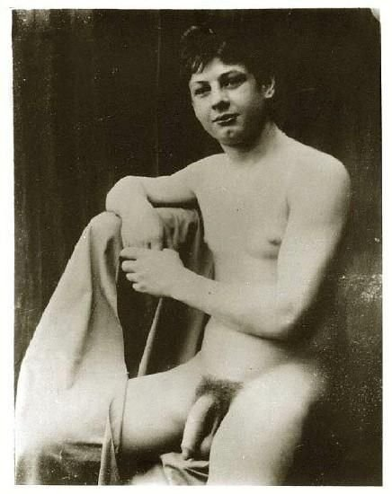 Think, that 19th century nude men think