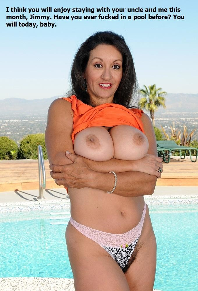 Horny Aunt Nephew Incest Captions (july 2015) Horny Aunts