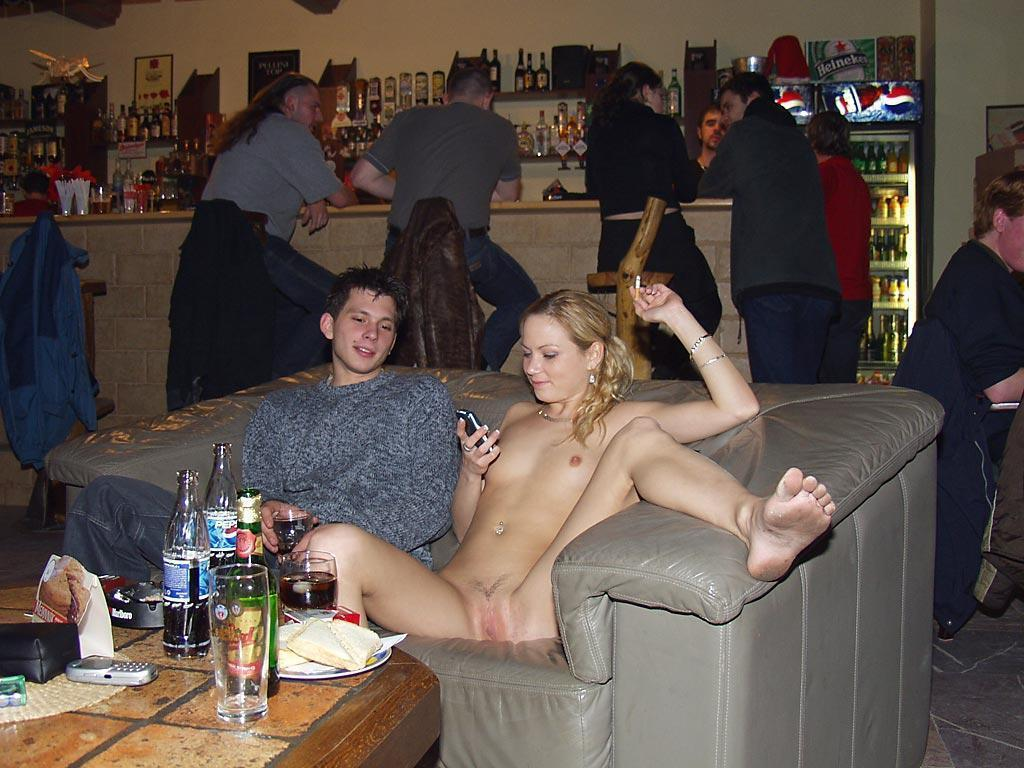 Amateur public nudity there something?