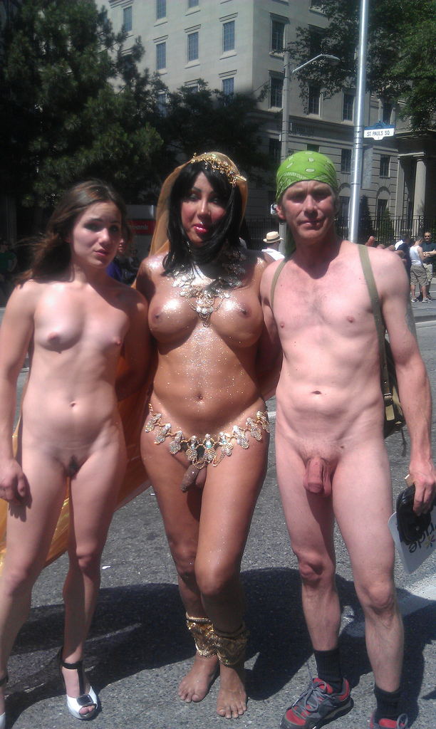 Shemale Naked In Public