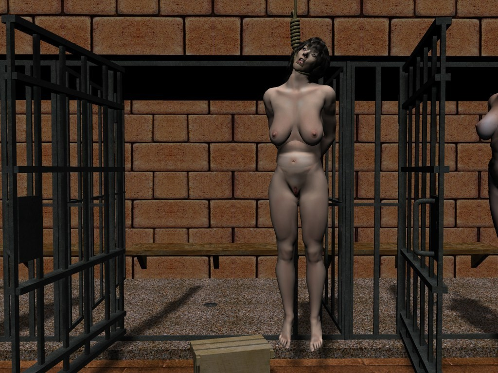 Naked Slave Woman Executed