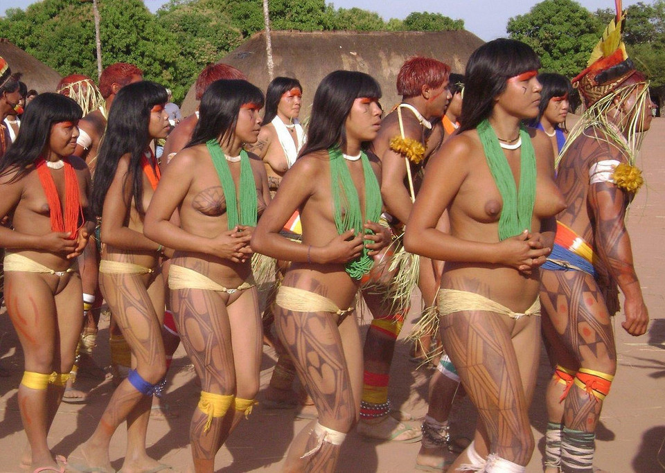 Southamerican tribal nudes