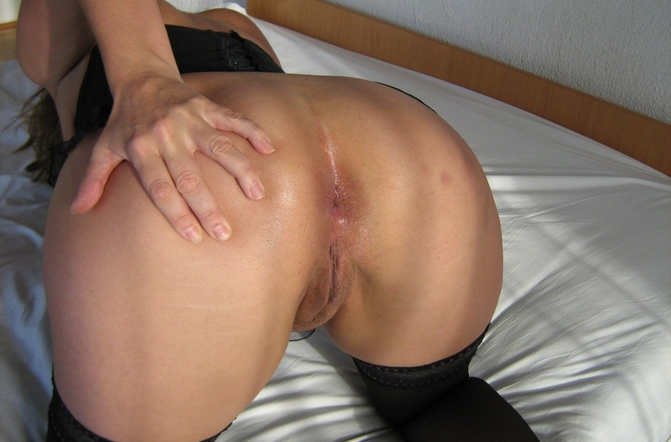 Back view of pussy