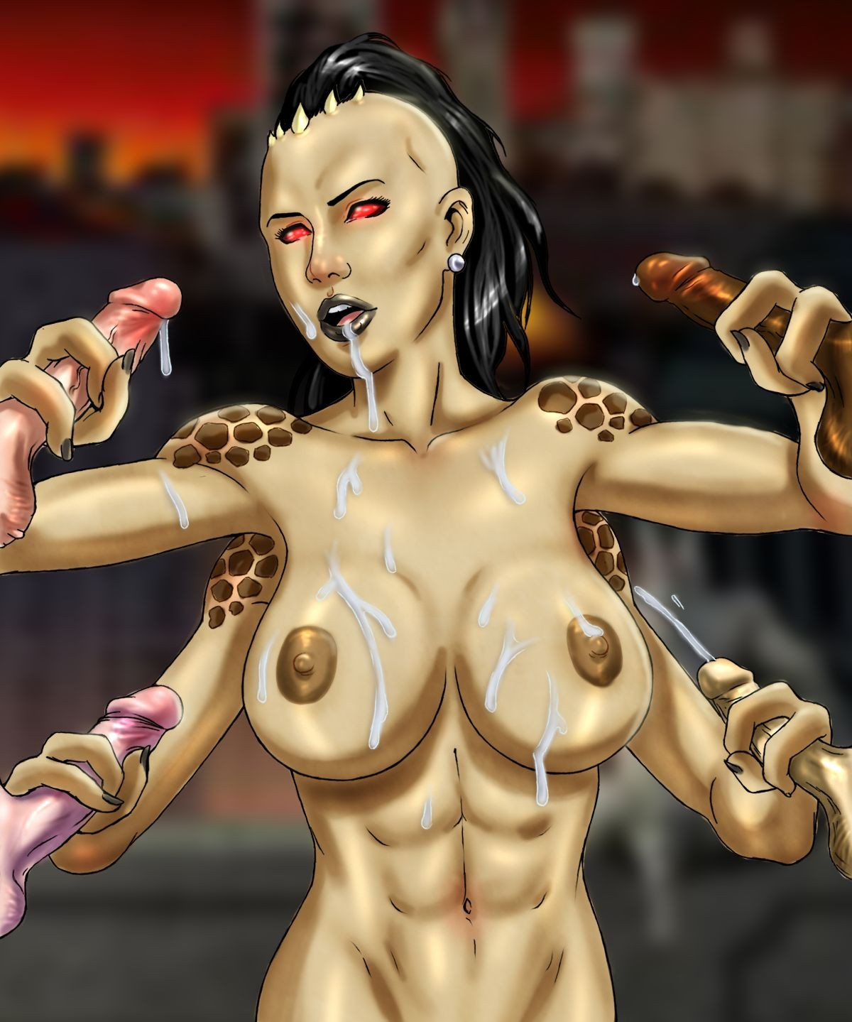 Sheeva mortal kombat