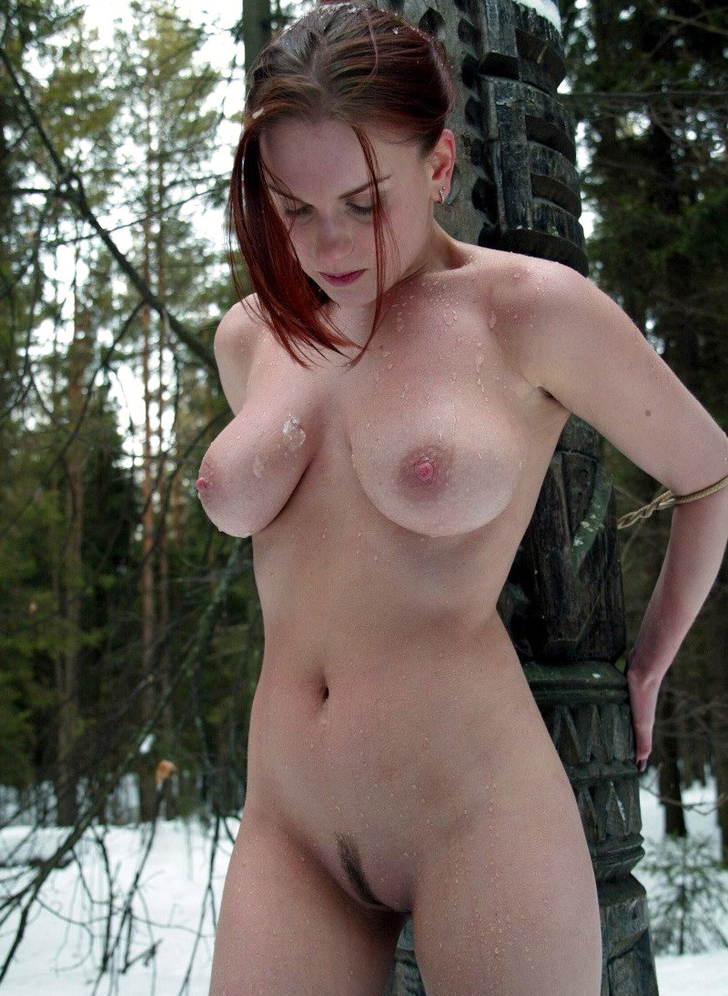 from Kian bound nude in the snow