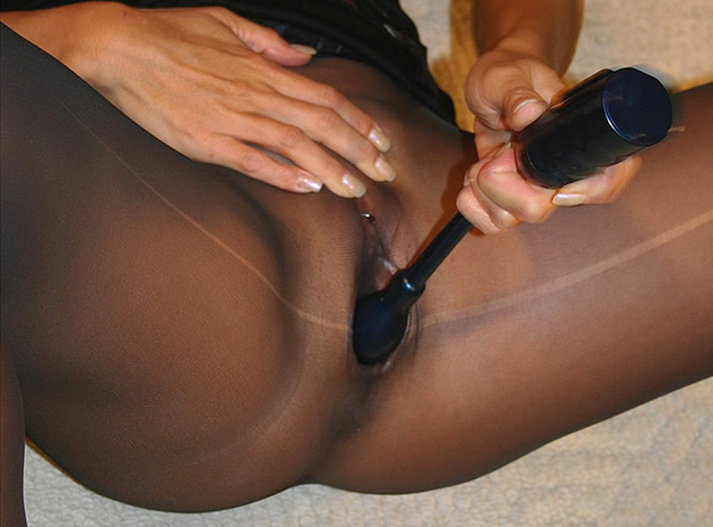 Masturbation With Pantyhose