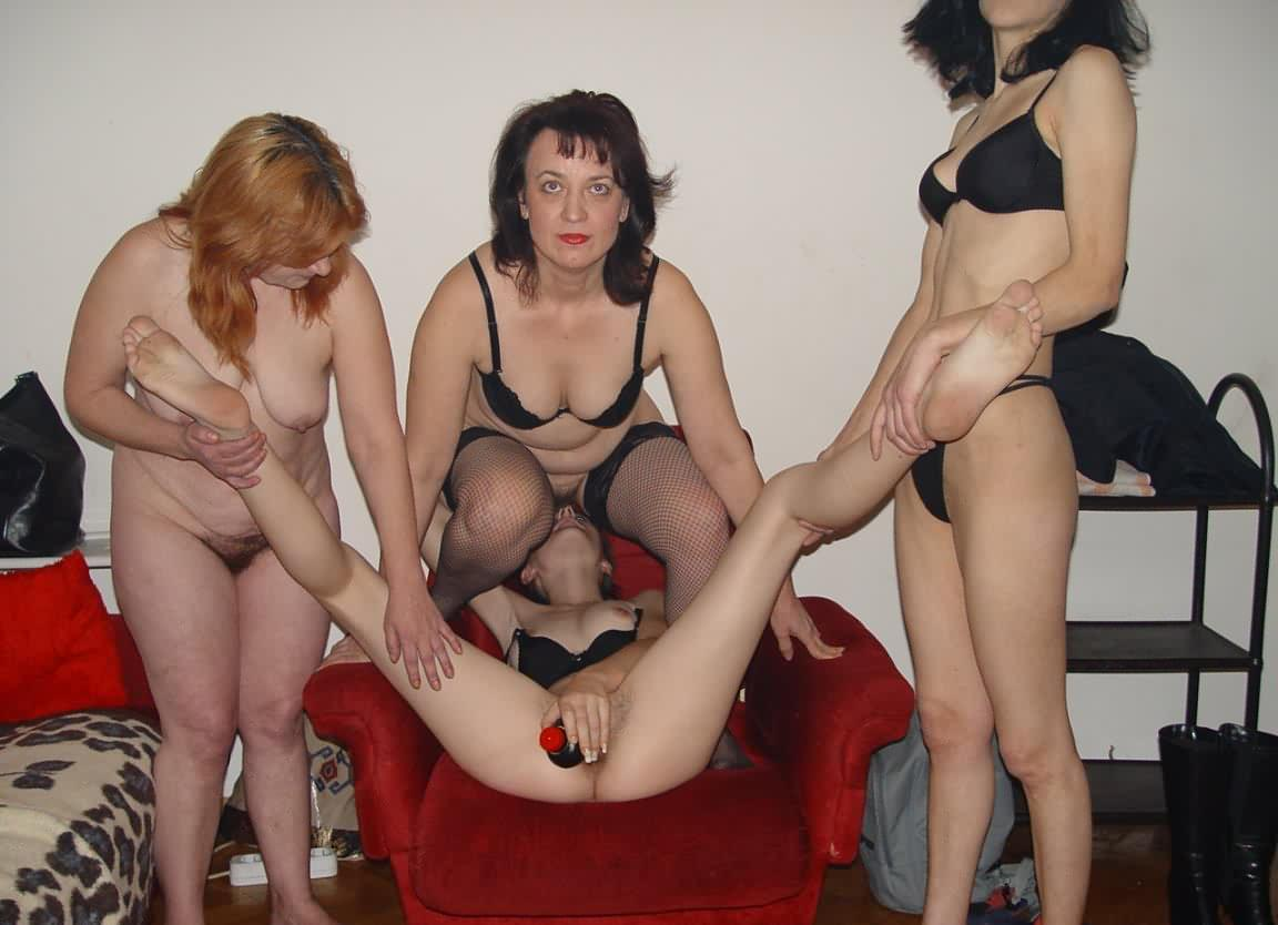 Daughter fucking in orgy mother