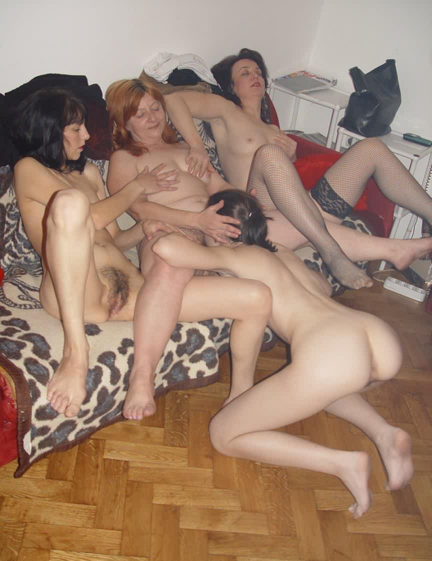 Daughter mom orgy