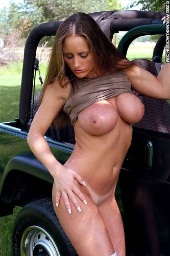 Teens nude on jeeps more than